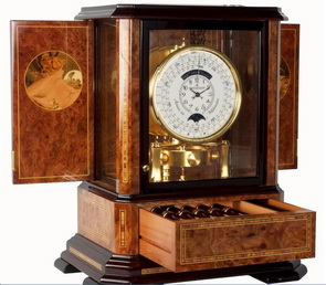 Atmos-Clock Horology News: SDJB Acquires Jaeger LeCoultre Atmos Clock